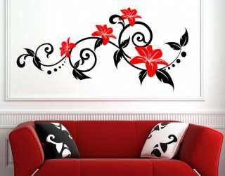 Ƹ̵̡Ӝ̵̨̄Ʒ ✿●•· Summer Flowers   Wall Decorative Sticker