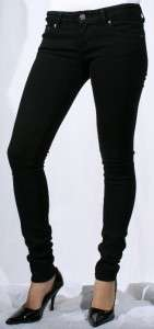 New Just USA Jeans Super Slim Skinny Black Sz 5