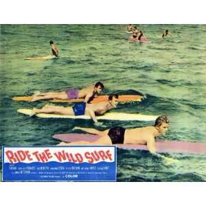 Ride The Wild Surf   Movie Poster   11 x 17: Home