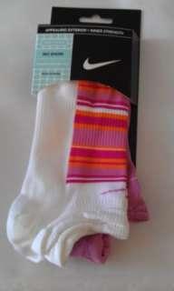 X6 Nike Womens Running Training Dri Fit Socks No Show