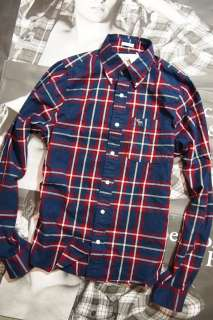 Abercrombie Fitch A&F Hollister Mens BUSHNELL FALLS Shirt $85