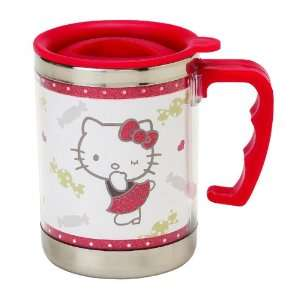 HELLO KITTY STAINLESS STEEL MUG CANDY KISSES Toys & Games