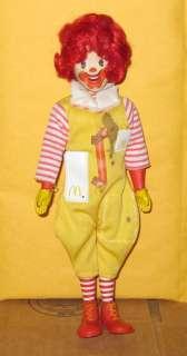 Vintage Remco McDonaldland Ronald McDonald Figure