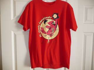 St Louis Cardinals SGA T shirt Youth XL Cardinal Nation