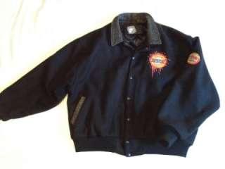 Guns N Roses Vintage Black Wool Tour Jacket XL, Use Your Illusion 1991