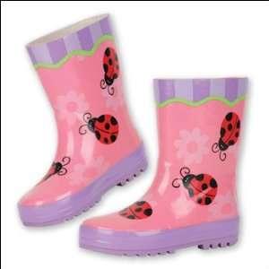 Ladybug Rain Boots by Stephen Joseph (7) Baby