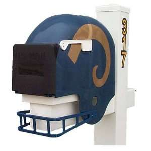 St. Louis Rams Helmet Mailbox