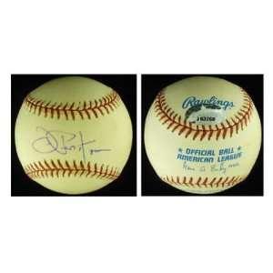 Joe Pepitone Autographed Baseball   AL PSA COA Cubs   Autographed