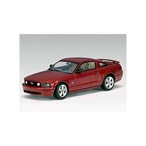 43 Scale AutoArt 2005 Ford Mustang GT Show Car Red Fire Toys & Games
