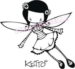 LUCY KETTO Stamping Bella Unmounted Rubber Stamp Craft