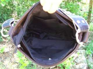 Western MOSSY Camo RHINESTONE Bead Cross Purse Handbag