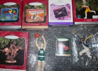 ORNAMENTS Lot~Horse~Lunchbox~Star Wars~Sports~Cars~Football~FREE SH