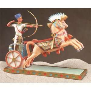 Ramses II on Chariot Egyptian Statue Home & Kitchen