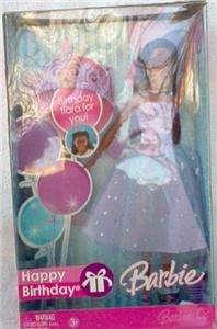 Barbie   Happy Birthday  2007   Black