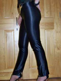 VTG spandex DISCO Fredericks of Hollywood PANTS rocker