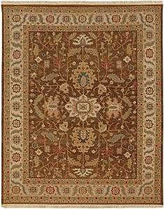 10x14 Margara soumack rug cocoa gold flat weave sumak