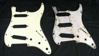 Vintage fender stratocaster guitar original green pickguard PRE CBS