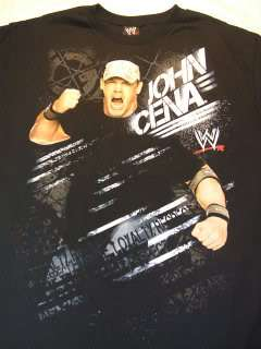 JOHN CENA Destruction WWE T shirt Cenation