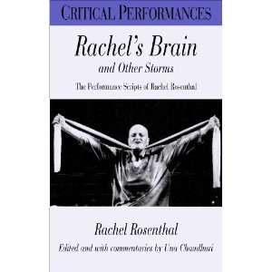 Performances) (9780826448972) Rachel Rosenthal, Una Chaudhuri Books