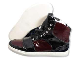 CREATIVE RECREATION Men Shoes Cesario I Black Burgundy Shoes