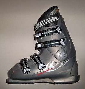 Salomon Performa 660 Ski Boots, mondo 25 (mens 6.5) bb
