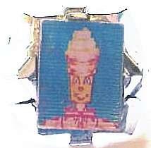 1960s Mister Softee Vari Vue Ring plastic