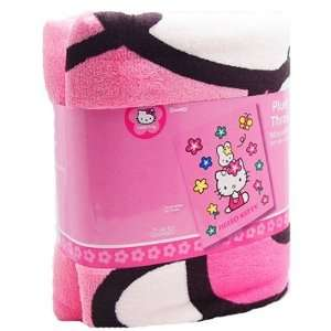 Hello Kitty Plush Throw Blanket