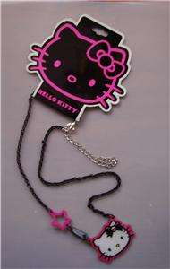Sanrio Hello Kitty Necklace Kuromi Black or Silver NEW