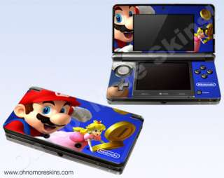 Nintendo 3DS Skin Vinyl Decal   Mario & Princess Peach