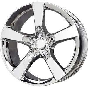 New 20X9 5x120 REPLICA Camaro SS Chrome Wheels/Rims
