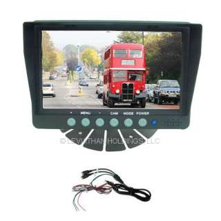 VIEW BACK UP CAMERA MONITOR REVERSE SAFETY CAR PICKUP TRUCK RV TRAILER