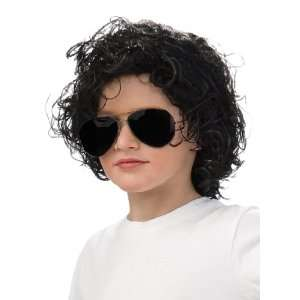 Michael Jackson Curly Wig (Child) / Black   One Size
