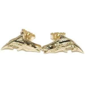 Reyes del Mar 14K Gold Snook Earring