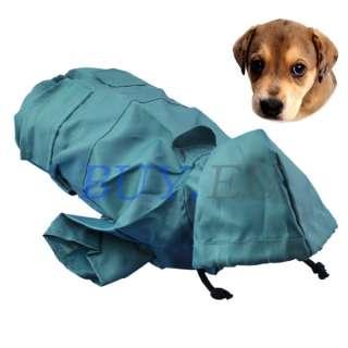 Pet Clothes Dog Cat Hoodie Raincoat Slicker S