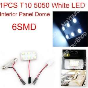 SMD 5050 2x Ultra White Car Interior Light Panel 6 LED 12v