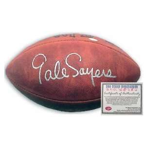 Gale Sayers Chicago Bears NFL Hand Signed Football