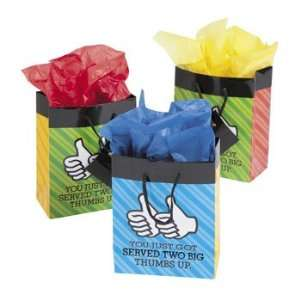 Small Thumbs Up Gift Bags   Party Favor & Goody Bags & Paper Goody
