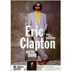 Eric Clapton   Journeyman 1990   CONCERT   POSTER from