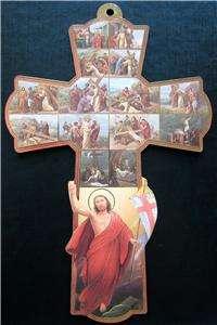 JESUS CRUCIFIXION CROSS PICTURE HOME INTERIOR DECOR