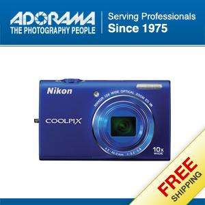 Nikon Coolpix S6200 Digital Camera, Blue #26276 18208262762