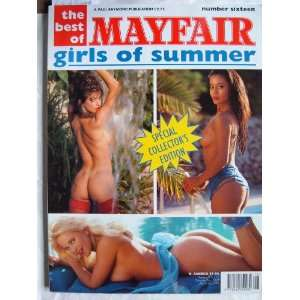 The Best of Mayfair, Girls of Summer #16   1993: Robert
