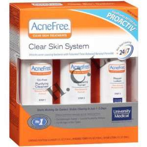 ACNE FREE 3 teiliges Clear Skin System Set (ACNEFREE)