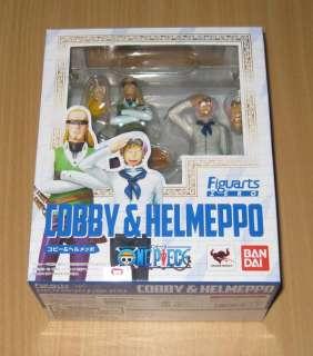 Bandai SH Figuarts(SHF) Zero One Piece Coby(Cobby) & Helmeppo Figure