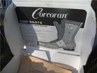 Mens Corcoran Brown Jump Boots PARATROOPER Size 8 D