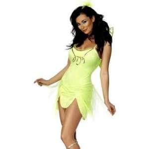 Smiffys Green Tinkerbell/Fairy Girl Costume Fancy Dress