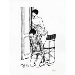 Valentina Limited and Numbered Edition Print #12 Guido Crepax Books