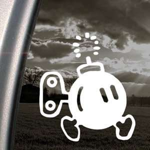 SUPER MARIO Decal BOMB OMB NES NINTENDO Car Sticker