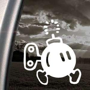 SUPER MARIO Decal BOMB OMB NES NINTENDO Car Sticker