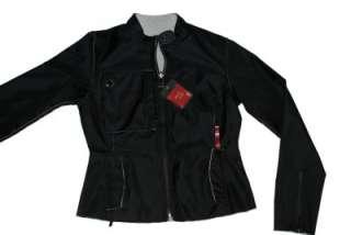 Brand New   Heart & Soul Womens Black Nylon Jacket/Coat