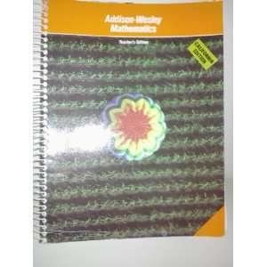 ADDISON WESLEY MATHEMATICS   TEACHERS EDITION   BOOK 1